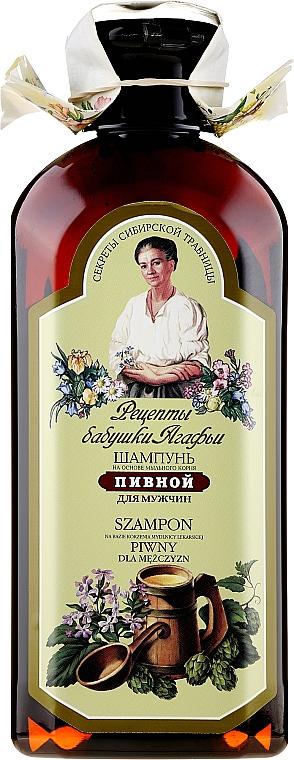 Champú con extractos de lúpulo y jabonera - Las recetas de la abuela Agafia