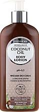Perfumería y cosmética Loción corporal con aceite orgánico de coco - GlySkinCare Coconut Oil Body Lotion