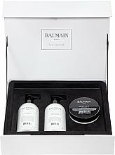 Perfumería y cosmética Balmain Paris Hair Couture Moisturizing Care Set - Set hidratante para cabello con aceite de argán (champú/300ml + acondicionador/300ml + mascarilla/200ml)