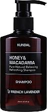 Perfumería y cosmética Champú con extracto de miel y aceite de macadamia, aroma a lavanda - Kundal Honey & Macadamia Shampoo French Lavender