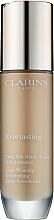 Perfumería y cosmética Base de maquillaje fluida de alta cobertura y larga duración, efecto mate - Clarins Everlasting Long-Wearing And Hydrating Matte Foundation