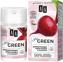 Perfumería y cosmética Crema mascarilla facial natural energizante con raíz de remolacha - AA Go Green