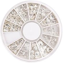 Perfumería y cosmética Decoración de uñas - Peggy Sage Carousel For Nail Decorations Summer Silver