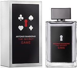 Perfumería y cosmética Antonio Banderas The Secret Game - Eau de toilette