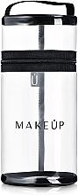 Perfumería y cosmética Neceser cosmético para brochas de maquillaje, transparente (24x10cm) - MakeUp Allvisible
