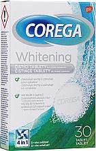 Perfumería y cosmética Tabletas de limpieza para dentaduras postizas - Corega Whitening Tabs
