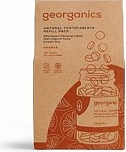 Perfumería y cosmética Recarga de tabletas dentales con sabor a naranja - Georganics Natural Toothtablets Orange