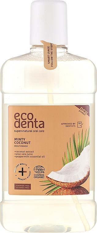 Enjuague bucal eco con extracto de coco y aceite esencial de menta - Ecodenta Cosmos Organic Minty Coconut