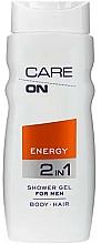 Perfumería y cosmética Gel de ducha 2 en 1 para hombre - Care On Energy Gel Shower