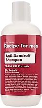 Perfumería y cosmética Champú anticaspa para hombre con piroctona alomina y aceite de menta - Recipe for Men Anti-Dandruff Shampoo