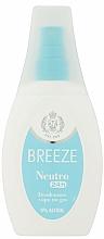 Perfumería y cosmética Desodorante spray sin gas ni alcohol para pieles sensibles - Breeze Deo Spray Neutro 24h Vapo