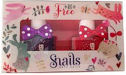 Perfumería y cosmética Set esmalte de uñas infantil, lavable y no tóxico - Snails Mini Bebe Be Free (2uds.x10,5ml)