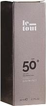 Perfumería y cosmética Crema facial de protección solar, SPF 50 - Le Tout Facial Sun Protect