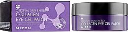 Perfumería y cosmética Parches para contorno de ojos con colágeno marino - Mizon Collagen Eye Gel Patch