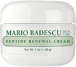 Perfumería y cosmética Crema facial con péptidos y extracto de sauce - Mario Badescu Peptide Renewal Cream