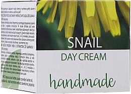 Perfumería y cosmética Crema de día con baba de caracol, manteca y polvo de cacao - Hristina Cosmetics Handmade Snail Day Cream