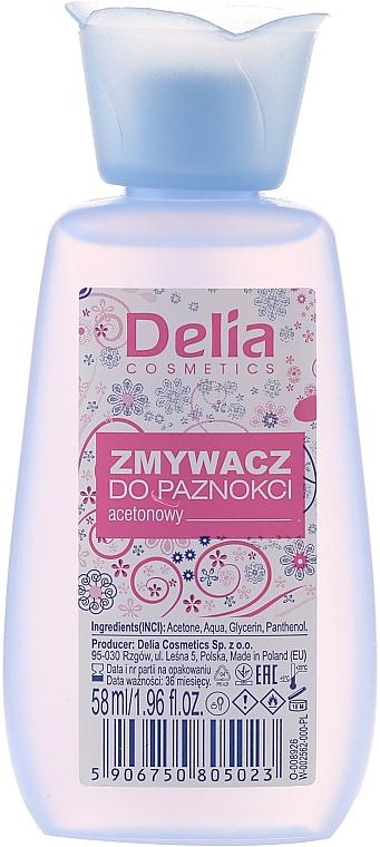 Quitaesmalte de uñas - Delia Nail Polish Remover — imagen N1