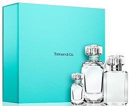 Perfumería y cosmética Tiffany Tiffany & Co - Set (eau de parfum/75ml + eau de parfum/mini/5ml + gel de ducha/100ml)