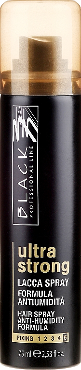 Laca antihumedad, fijación extra fuerte - Black Professional Line Hairspray Ultra Strong Hold