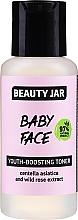 Tónico facial rejuvenecedor con extracto de centella asiática y rosa silvestre - Beauty Jar Baby Face Youth-Boosting Toner — imagen N1