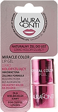 Perfumería y cosmética Gel labial en color rosa con manteca de mango - Laura Conti Miracle Color Lip Gel