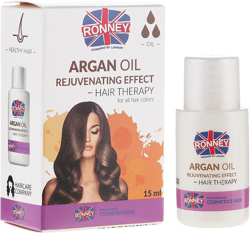 Aceite para cabello de argán - Ronney Argan Oil Rejuvenating Hair Therapy