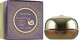 Perfumería y cosmética Crema facial intensiva con extracto de baba de caracol - FarmStay Escargot Noblesse Intensive Eye Cream
