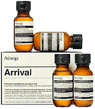 Perfumería y cosmética Set formato viaje (champú/50ml + acondicionador/50ml+ gel de ducha/50ml+ bálsamo/50ml) - Aesop Arrival Travel Kit
