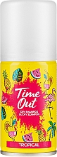 Perfumería y cosmética Champú seco en spray con aroma tropical - Time Out Dry Shampoo Tropical