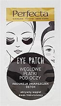 Perfumería y cosmética Parches para debajo de los ojos con carbón activado - Dax Cosmetics Perfecta Eye Patch