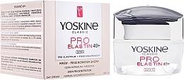 Perfumería y cosmética Crema de día con elastina y ácido hialurónico - Yoskine Classic Pro-Elastin Day Cream 40+
