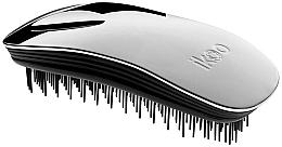 Perfumería y cosmética Cepillo desenredante - Ikoo Home Metallic Oyster Black