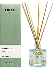 Perfumería y cosmética Ambientador Mikado, pimienta e iris - Ambientair Lab Co. Pepper & Iris