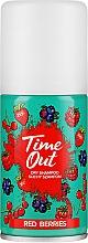 Perfumería y cosmética Champú seco en spray con aroma a frutos rojos - Time Out Dry Shampoo Red Berries
