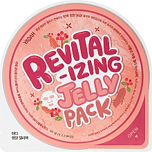 Perfumería y cosmética Mascarilla facial en lámina con extracto de ginseng - Yadah Revitalizing Jelly Pack