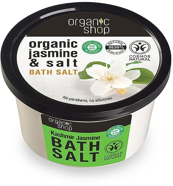 Sales de baño con jazmín orgánico & sal marina - Organic Shop Baths Salt Organic Jasmine & Salt — imagen N1