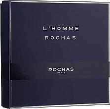 Perfumería y cosmética Rochas L'Homme Rochas - Set (eau de toilette/100ml + gel de ducha para cuerpo y cabello/100ml + bálsamo aftershave/100ml)