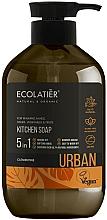 Perfumería y cosmética Jabón de cocina líquido con extracto de clementina y moringa - Ecolatier Urban Liquid Soap
