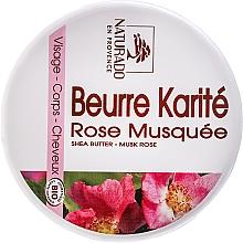 Perfumería y cosmética Manteca facial y corporal de karité & rosa moschata - Naturado Musk Rose & Shea Butter