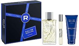 Perfumería y cosmética Rochas Eau de Rochas Homme - Set (eau de toilette/100ml + gel de ducha/100ml + eau de toieltte/mini/20ml)