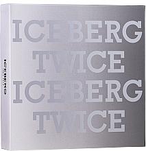 Perfumería y cosmética Iceberg Twice Homme - Set (eau de toilette/125ml + neceser)