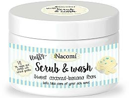 Perfumería y cosmética Exfoliante limpiador con coco y plátano - Nacomi Scrub and Wash Sweet Coconut-Banana Foam