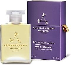 Perfumería y cosmética Aceite de baño y ducha de incienso y camomila silvestre - Aromatherapy Associates De-Stress Mind Bath & Shower Oil