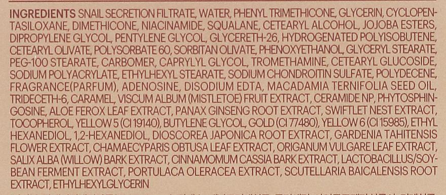 Crema facial antiedad con baba de caracol dorado - Skin79 Golden Snail Intensive Cream — imagen N4