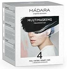 Perfumería y cosmética Set de tratamiento facial - Madara Cosmetics Multimasking Treatment Set (mascarillas mini/4x12,5ml + ampollas de refuerzo/2x3ml)