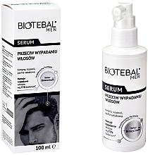 Perfumería y cosmética Sérum anticaída con aceite de menta - Biotebal Men Serum