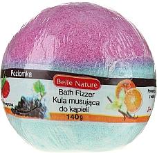 Perfumería y cosmética Bomba de baño efervescente, violeta y azul - Belle Nature