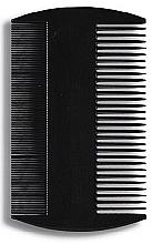 Perfumería y cosmética Peine con púas finas y gruesas 8,8 cm, negro - Donegal Hair Comb