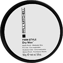 Perfumería y cosmética Cera seca moldeadora de cabello, acabado mate - Paul Mitchell Firm Style Dry Wax