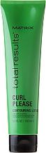 Perfumería y cosmética Loción para aportar cuerpo, brillo y movimiento a los rizos con aceite de jojoba - Matrix Total Results Curl Contouring Lotion